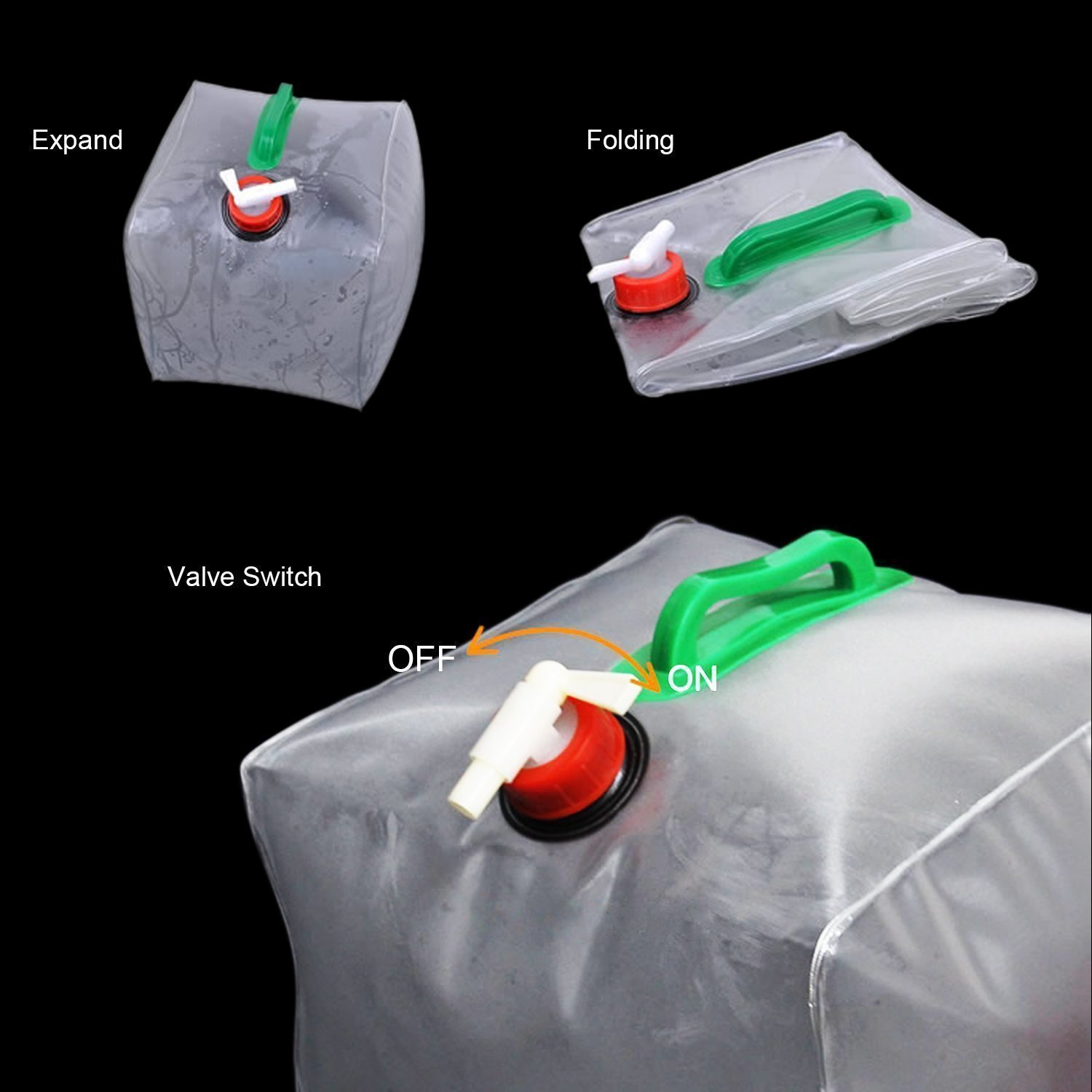 Portable Water Carrier Bag